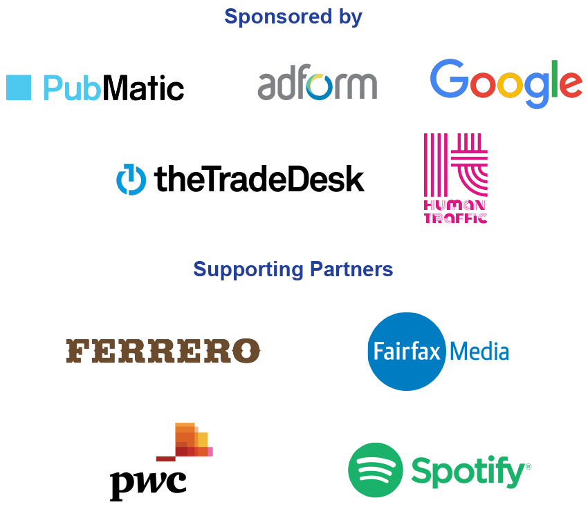Thanks to our sponsors and supporting partners