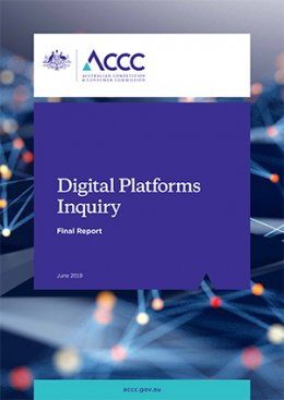 IAB Australia Statement on the ACCC Digital Platforms Inquiry Report