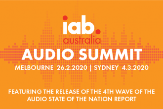 IAB Audio Summit - Melbourne & Sydney