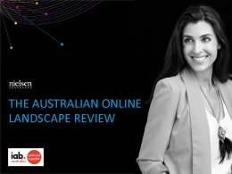 Australian Online Landscape Review - Oct. 2017