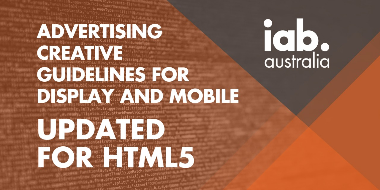 Get up to speed on the new HTML5 Creative Guidelines